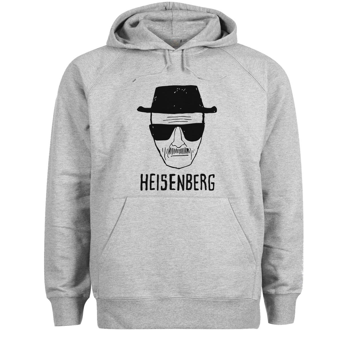 Friendly Bees Heisenberg in Black Walter White Breaking Bad Unisex Hoodie
