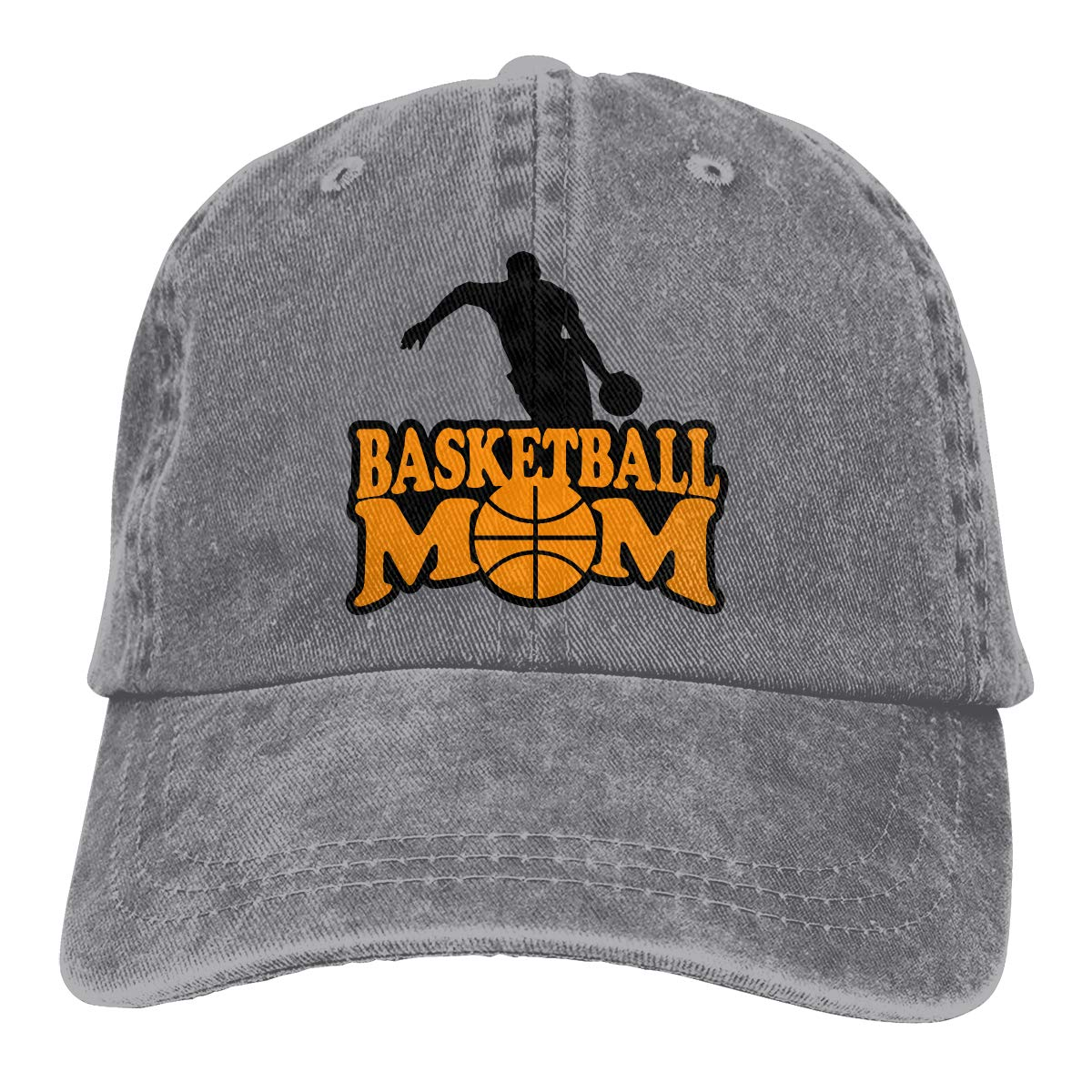 PMGM-C Basketball Mom Unisex Personalize Cowboy Hat Casquette Adjustable Baseball Cap