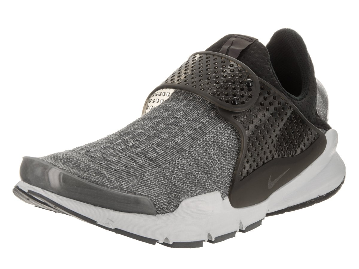 the latest 74bc6 aad3b NIKE Men's Sock Dart SE Premium Dark Grey/Black/Pure Platinum Running Shoe  13 Men US