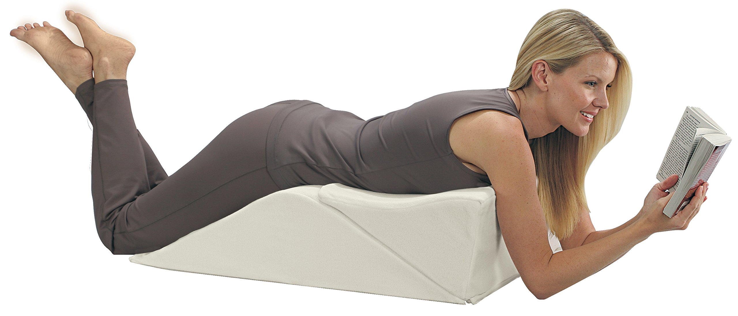 Contour Products BackMax Full Body Foam Bed Wedge Pillow System, Plus 2.0 by Contour (Image #2)