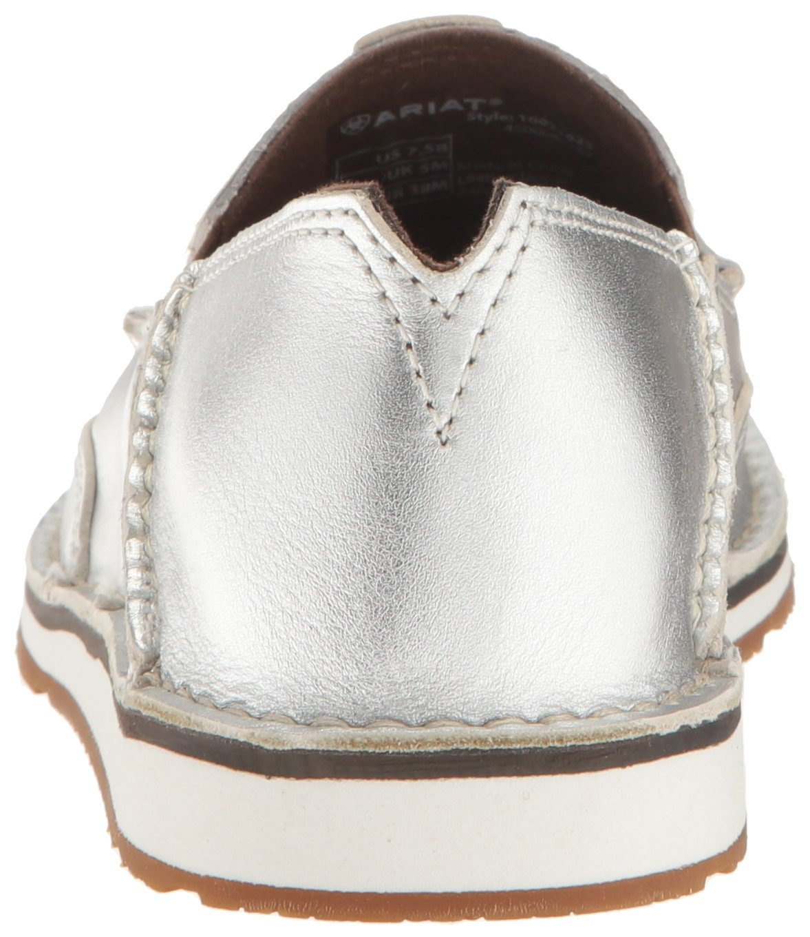 Ariat Women's Cruiser Slip-on US|Silver Shoe B01N9X75WM 8.5 B(M) US|Silver Slip-on Stream 9e4417