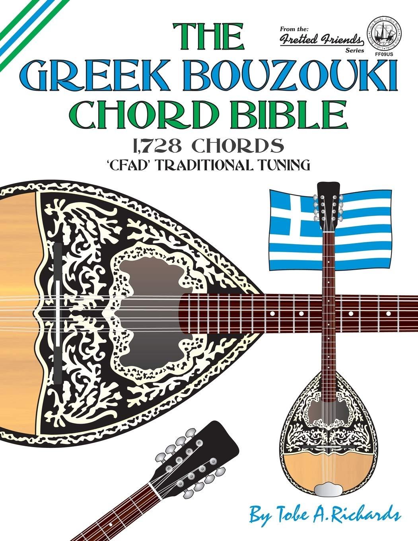 The Greek Bouzouki Chord Bible: CFAD Standard Tuning 1,728 Chords ...