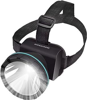 Kmashi Rechargeable LED Headlamp
