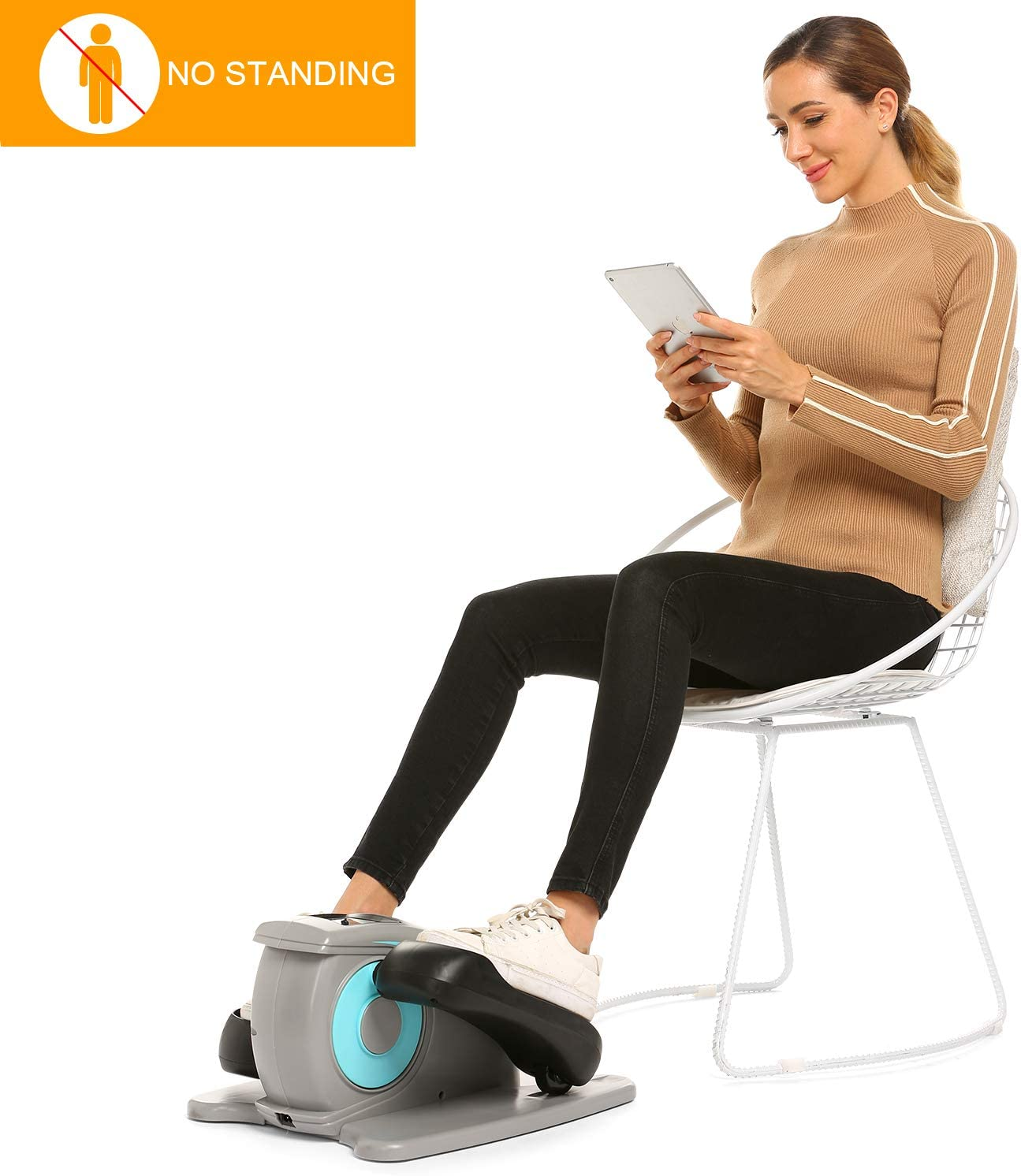 Fast88 Electric Desk Elliptical Machine Trainer