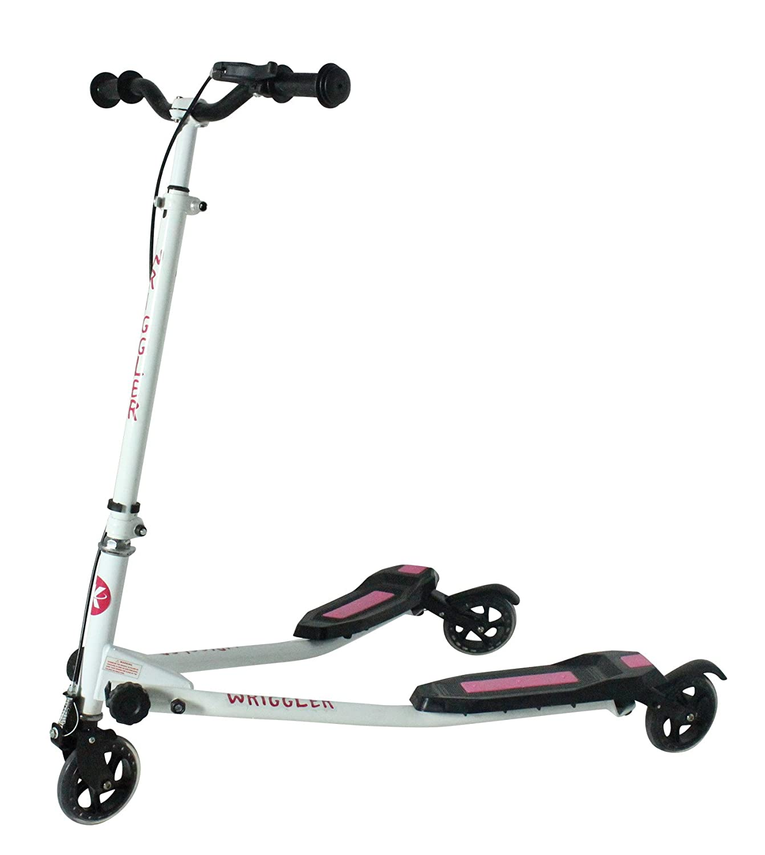 Kidzmotion niño inquieto 3 ruedas scooter de oscilación del reductor de velocidad vagabundo (edad 5