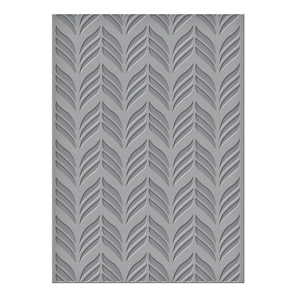 Spellbinders S6-072 Deco Chevron Texture Plate