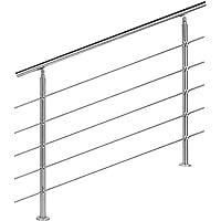 Barandilla acero inox 5 varillas 120cm Pasamanos escalera