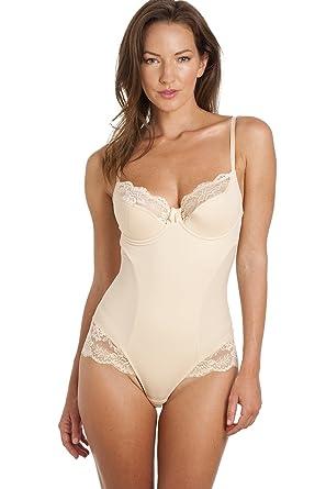Body gainant en dentelle - beige 110F  Camille  Amazon.fr  Vêtements ... c6ad8699821