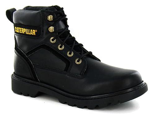 Excelente calidad descuento zapatos casuales Caterpillar - Botas de cuero para hombre, color negro, talla ...