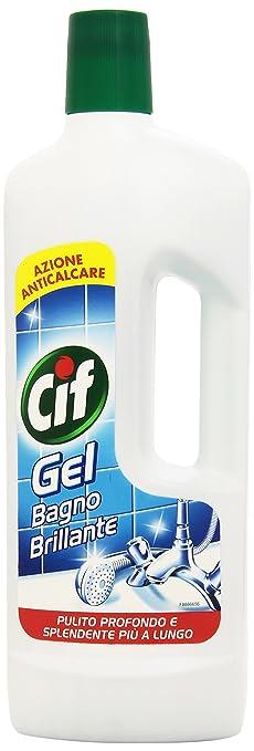 3 opinioni per Cif- Gel Bagno Brillante, Detergente per superfici dure , 750 ml