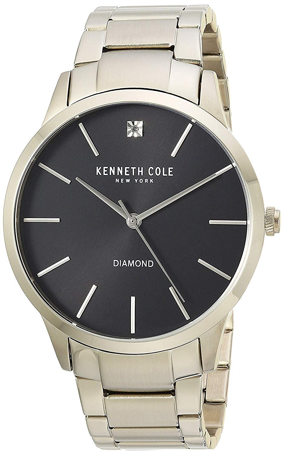 Amazon.com: Kenneth Cole New York Mens Quartz Stainless Steel Casual Watch, Color:Gold-Toned (Model: KC15111014): Watches