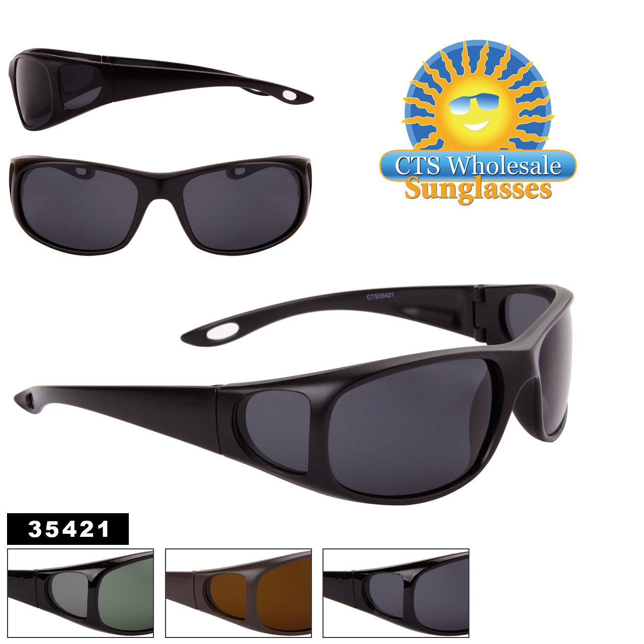 a333c72fdcf464 surlunettes de soleil polarisantes polarisées sport verres polarisés homme  femme CTS35421 (monture marron verres marron, largeur 140mm hauteur 40mm)   ...