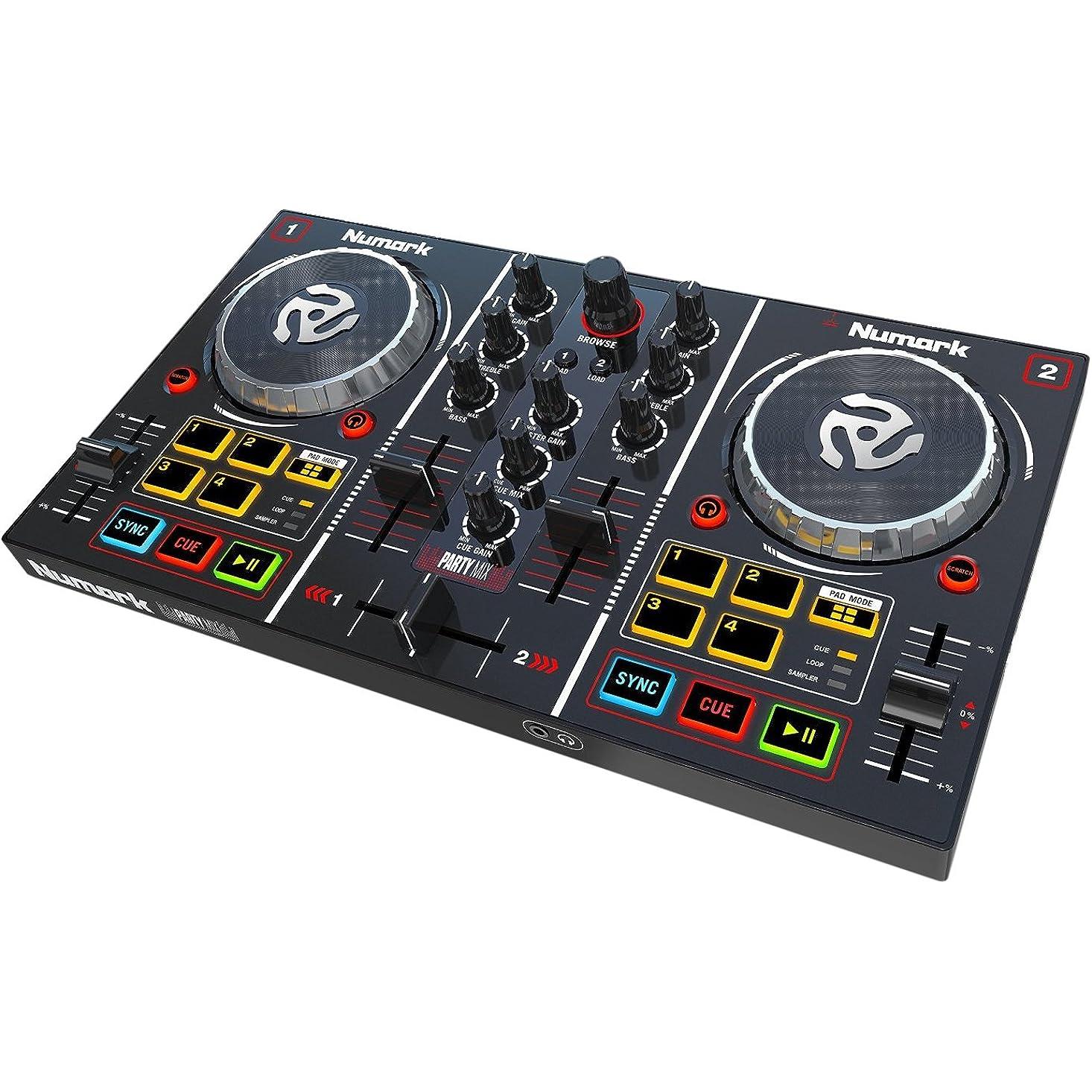 Einen guten DJ Controller bekommen Sie bei der Marke Numark.