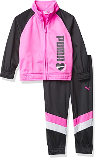 PUMA baby-girls Track Jacket & Jogger Leggings