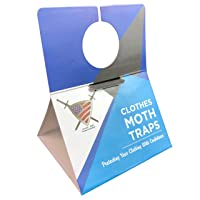 Moth Traps Closet Clothing - (6 Pack) Moths Clothes Trap with Unique Hanging Design...