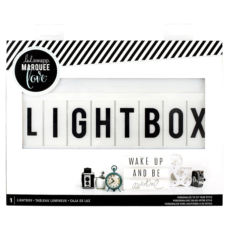 White lightbox American Crafts