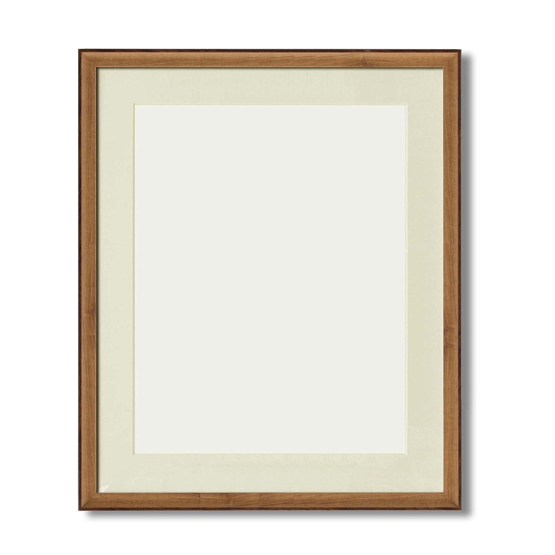 【軽量水彩額】マット壁掛けひもアクリル付 ■8155水彩額F10(516×441) マット付(オーク) B01N2RL5MJ F10|オーク オーク F10