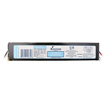 Advance ICN-4P32-SC Electronic Fluorescent Ballast, 4 Lamp, 32W T8, 120/277V