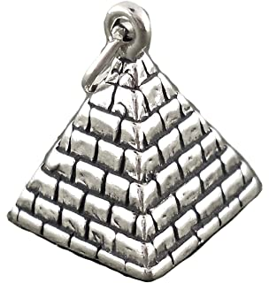 Corinna-Maria 925 Sterling Silver Pyramid Charm