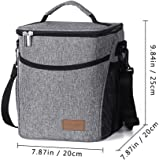 Niome Waterproof Lunch Bag Thermal Cooler Insulated Portable Tote Storage Box
