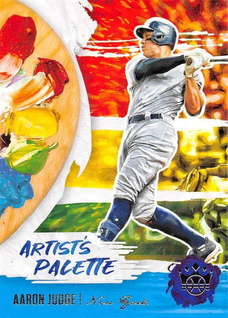 2020 Panini Diamond Kings Artists Palette #10 Aaron Judge New York Yankees Baseball Trading Card