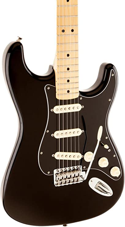 Amazon.com: Fender Special Edition Standard Stratocaster Electric Guitar Black: Musical Instruments