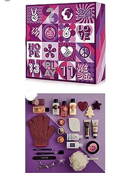 Calendrier De Lavent The Body Shop 24 Jours De Soins De Beauté Le Cadeau Idéal Pour Faire Découvrir Body Shop