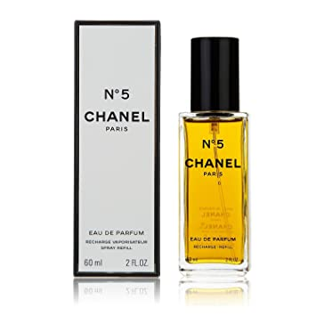 8e09cde800b2 Chanel No. 5 Eau de Parfum Spray 60ml Refill: Amazon.co.uk: Beauty