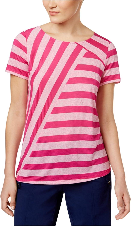 Womens Mixed Fleck Stripes Top G.H Bass /& Co
