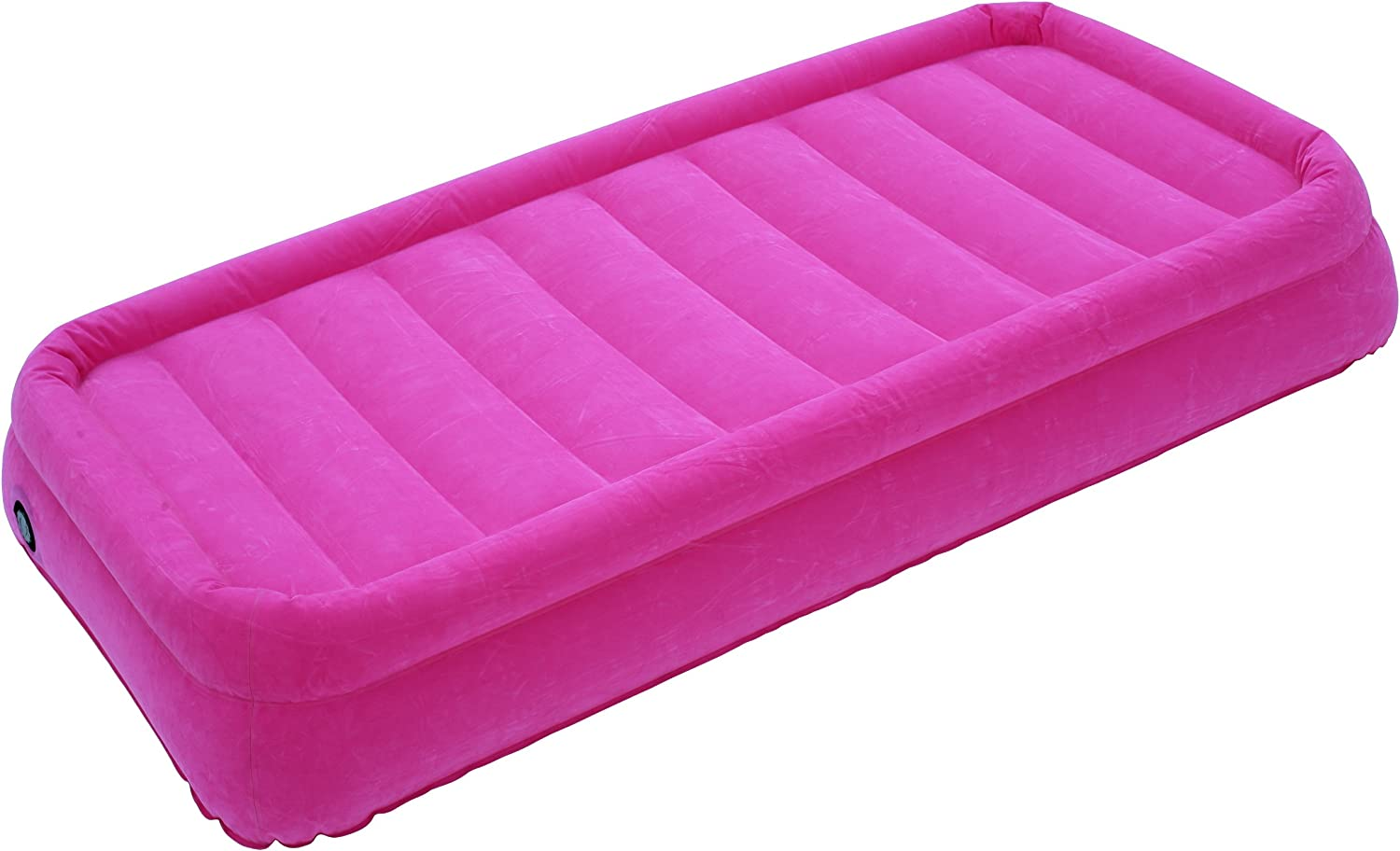 Twin AirCloud CAB-010 Magestic 14-Inch High Inflatable Pink Air Bed with AC Motor Pump