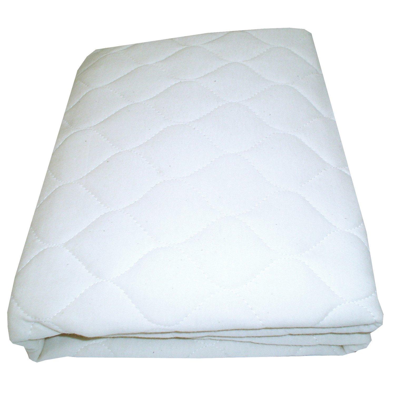 Babydoll Bedding Bassinet Waterproof Mattress Protector & Pad - Size 12'' x 28''