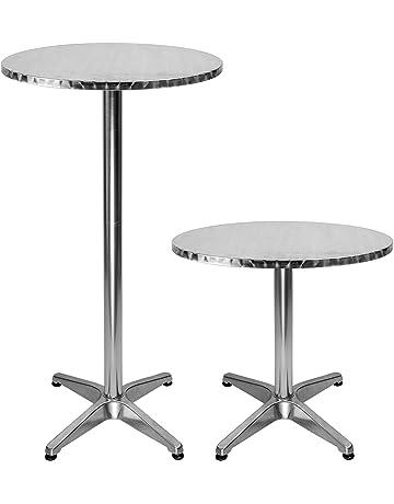 Tavolino Alto E Stretto.Amazon It Tavoli Da Bar Per La Casa
