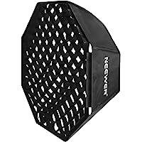 "Neewer 30""x30"" / 80cmX80cm Grid Octagon Umbrella Speedlite Softbox with Bowens Mount Speedring for Nikon, Canon, Sony…"