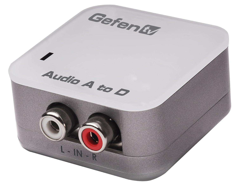 【人気商品!】 Gefen GTV-AAUD-2-DIGAUD アナログオーディオ to デジタルオーディオ変換機(Toslink S/PDIFに変換) S/PDIFに変換) GTV-AAUD-2-DIGAUD to B001UFTOPQ, 広島市:51e02582 --- efichas.com.br