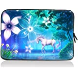 """ToLuLu® Unicorn 12.5"""" 13"""" 13.3"""" inch Notebook Laptop Case Sleeve Carrying bag for Apple Macbook pro 13 Air 13/ Samsung 900X3 530 535U3/Dell XPS 13 Vostro 3360 Latitude E6230/ ASUS UX32 UX31 U36 X35 /SONY SD4 13/ ACER 13/ThinkPad X1 L330 E330"""