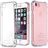 """Jenuos iPhone 8 Case, iPhone 7 Case, Clear Soft TPU Shockproof Phone Case Cover for Apple iPhone 7/8 4.7"""" (7G-TPU-CL)"""