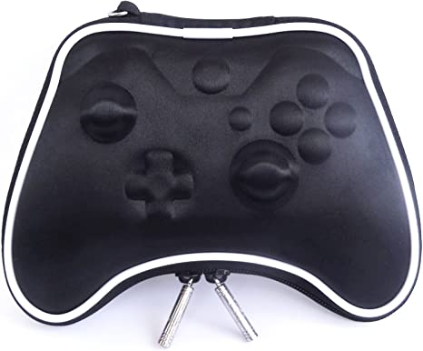 Pandaren® Caso duro bolsa de transporte airform para el Mando Xbox One (negro): Amazon.es: Videojuegos