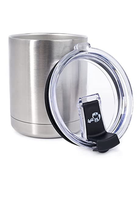 0d88769a408 10 OZ Spill Proof Stainless High Strength Steel Double-Wall Vacuum Insulated  Lowball Thermos Tumbler
