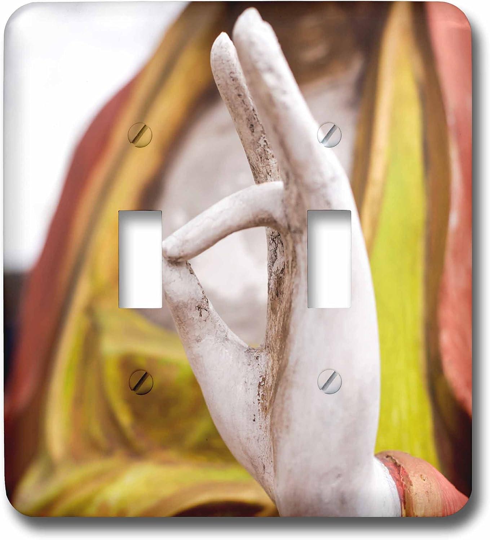 New Mexico 3dRose lsp/_209465/_2 Buddha Statue USA Double Toggle Switch Santa Fe