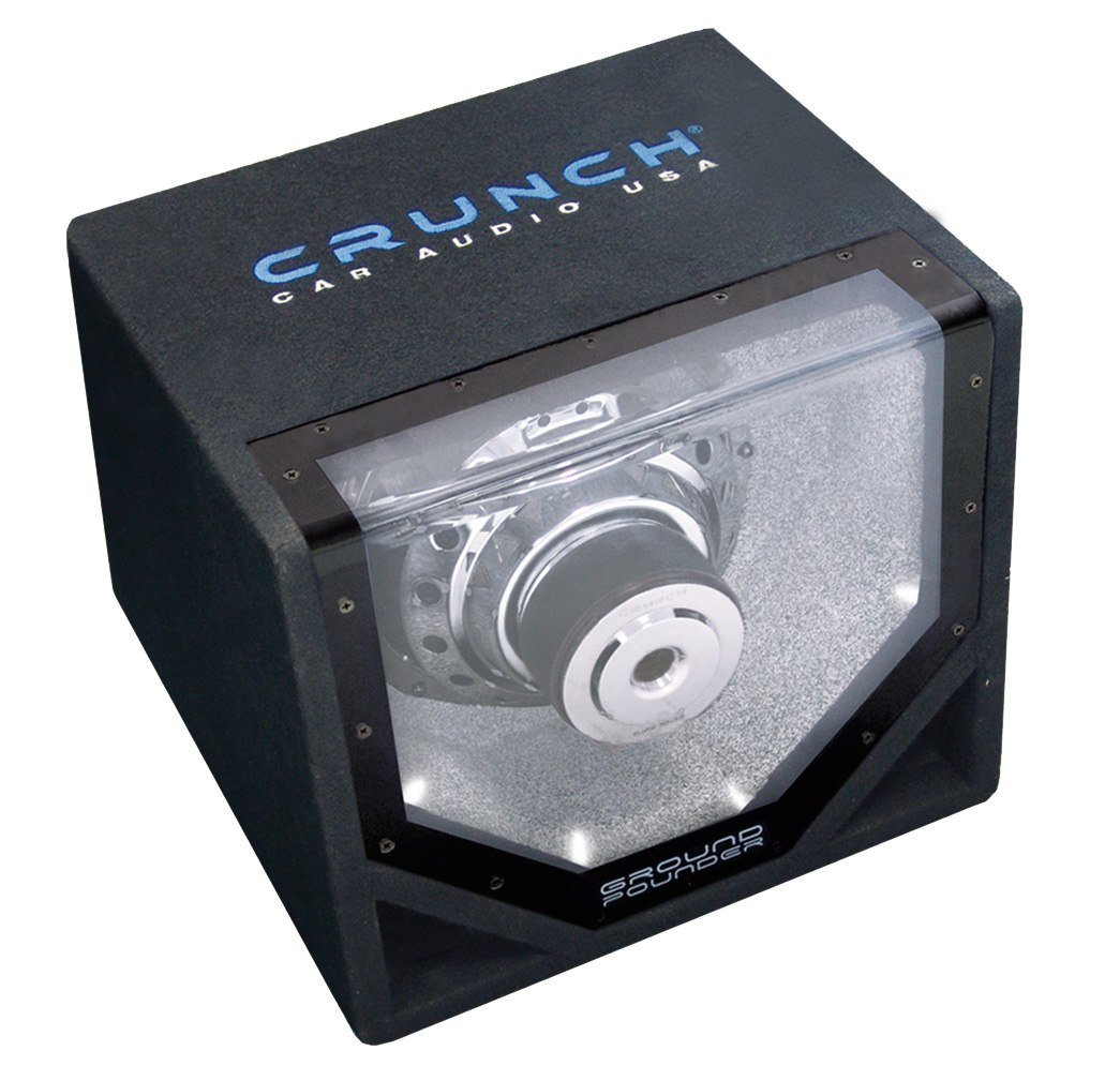 Crunch gpx-10bp Pre-Loaded Subwoofer 300/ W Subwoofer f/ür Auto