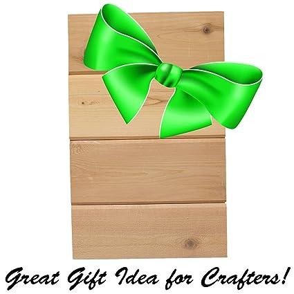 Amazon com: Wood Block Crafts - Rustic Wood Pallet - Tongue