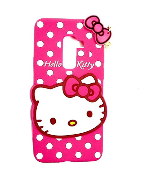 buy online 6f02b 47816 Vinnx Hello Kitty Back Cover for Samsung Galaxy J8: Amazon.in ...