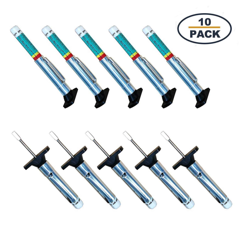 10 Unidades Medidor de Profundidad para neum/áticos Godeson 88702