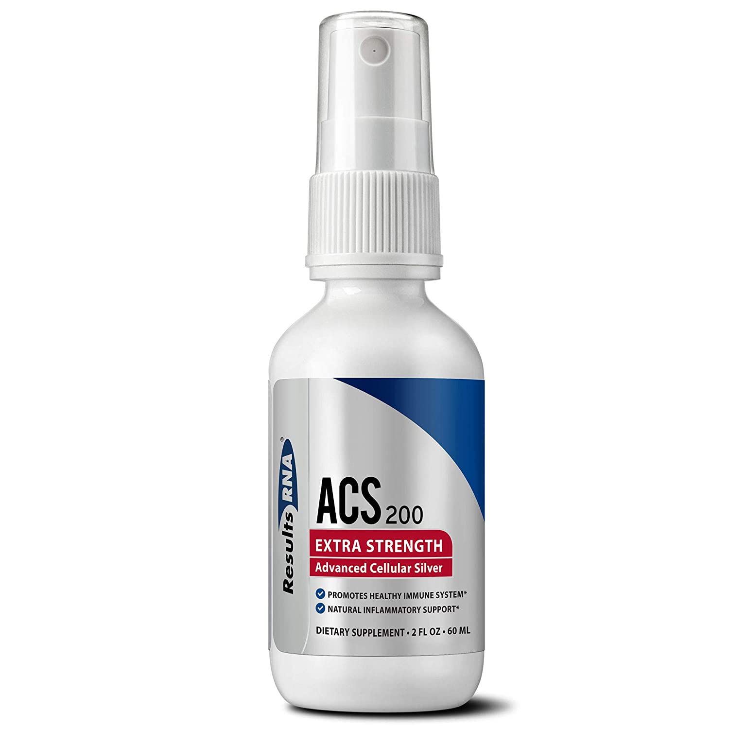 Results RNA ACS 200 Extra Strength Colloidal Silver | 2 Ounce Spray Immune System Support