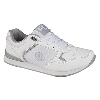 Womens/Ladies Kitty Lace Up Trainer-Style Bowling Shoes