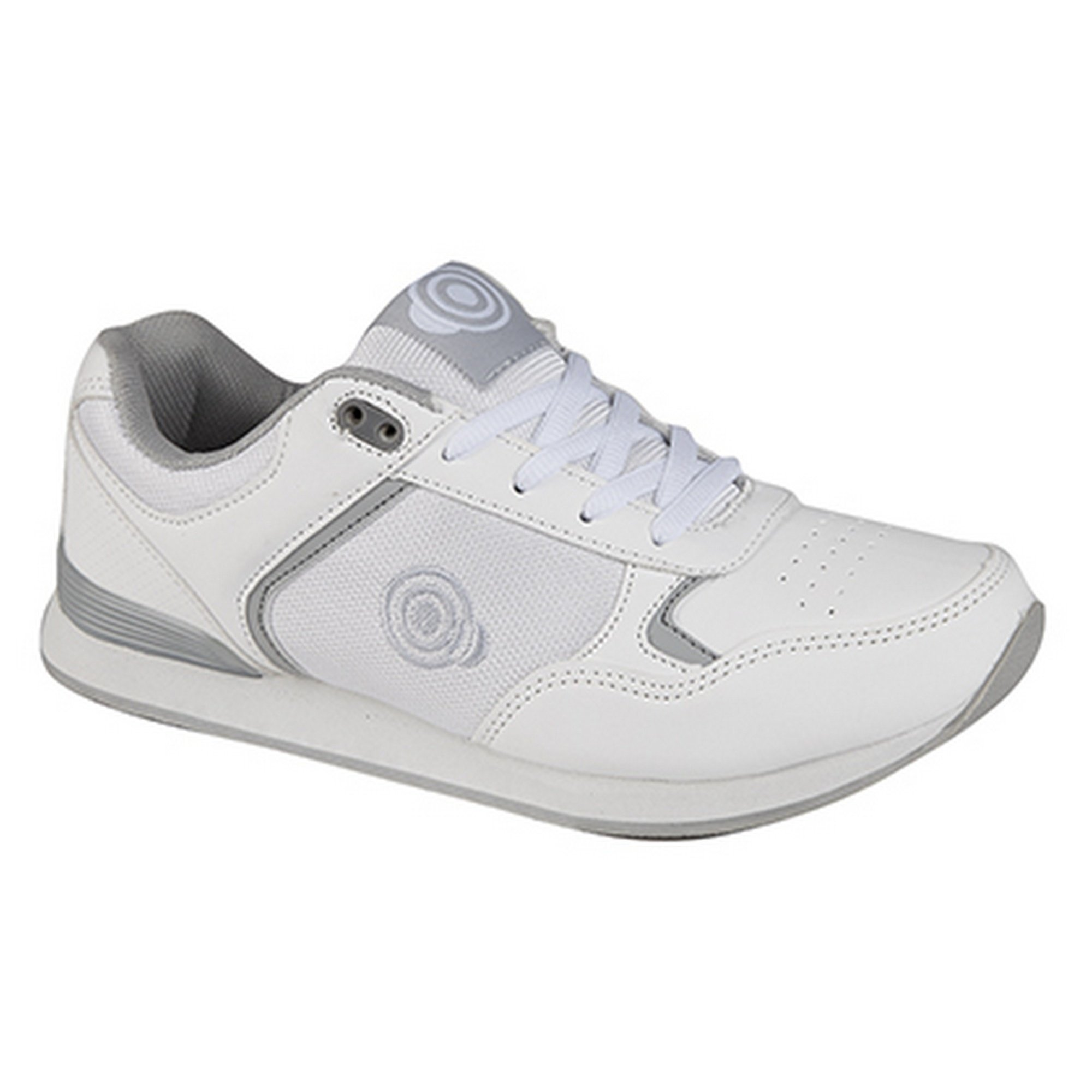 Dek Womens/Ladies Kitty Lace up Trainer-Style Bowling Shoes (6 US) (White)