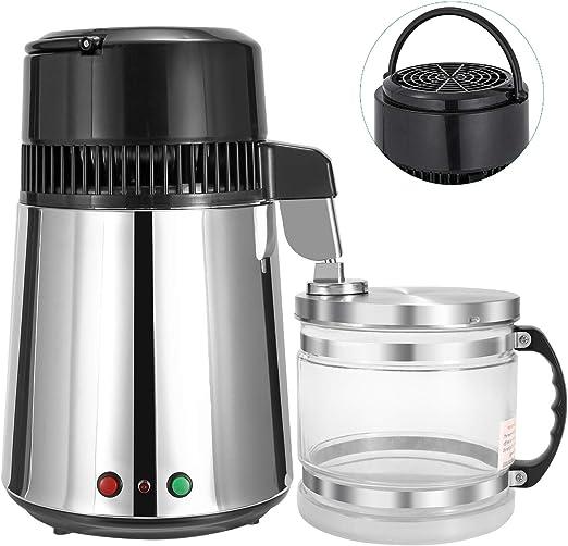 Hanchen 4L Destilador de Agua 1L/H Purificador de Agua Acero ...