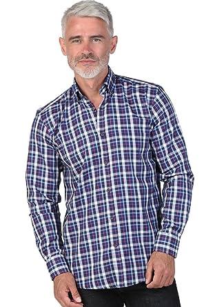 Majoritaire Carreaux Dorsey À Chemise Coton Yves Homme wIX4qF7