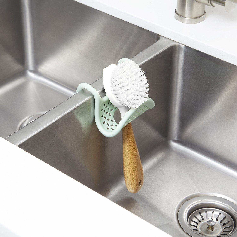 Amazon com umbra sling sink caddy mint home kitchen