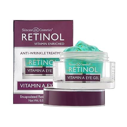 Gel Para Ojos con Vitamina A de Retinol – Tratamiento Antiarrugas que Minimiza los Signos del